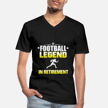 Hall Of Fame American Football Legend Hall of Fame-geschenk - Klassiek mannen T-shirt met V-hals