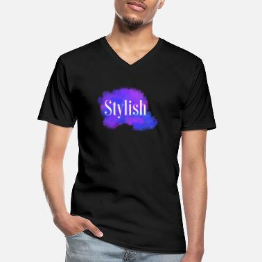 Stylish Stylish - Men's V-Neck T-Shirt