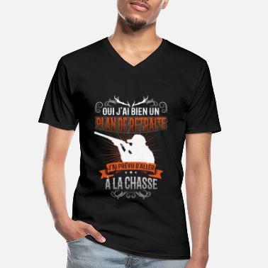 Chien B/écasse Chasse T-Shirt Premium Homme