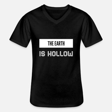 Hollow The earth is hollow - Men's V-Neck T-Shirt