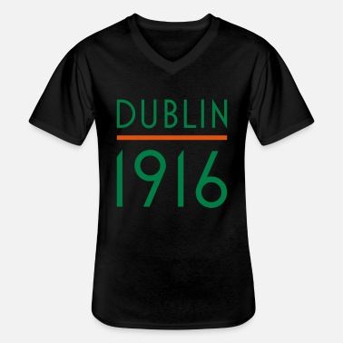 Independence Dublin 1916 rebel irish - Men's V-Neck T-Shirt