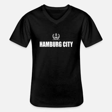 Hamburger Hamburg - Men's V-Neck T-Shirt