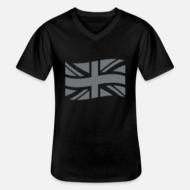Uk UK - T-shirt col V Homme