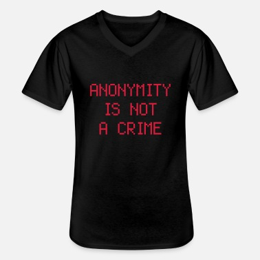 Smart anonymity - Men's V-Neck T-Shirt