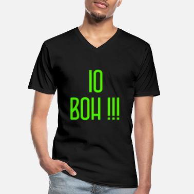 Neighborhood IoBoh ConcursoItalian Green - Men's V-Neck T-Shirt