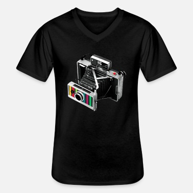 Camera Vintage Camera / Old Camera - Men's V-Neck T-Shirt