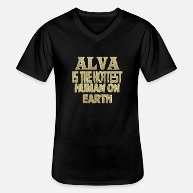 Alva Alva - Men's V-Neck T-Shirt