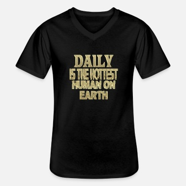Daily Daily - Men's V-Neck T-Shirt