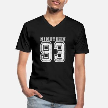 Nineteen NINETEEN 1993 - Men's V-Neck T-Shirt