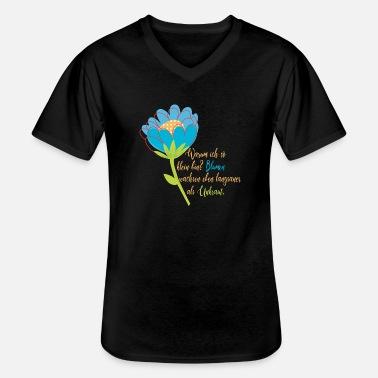 Cherry Blossom Fiore Immagine Baseball T-shirt Nera Maniche Giardiniere Fiorista