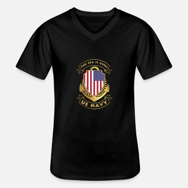 Us US Navy - Men's V-Neck T-Shirt