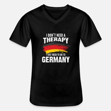 Federal State Germany therapy country federal states gift - Men's V-Neck T-Shirt