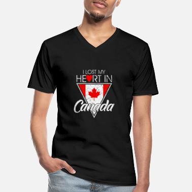 Vacation Country Canada summer vacation country home gift - Men's V-Neck T-Shirt