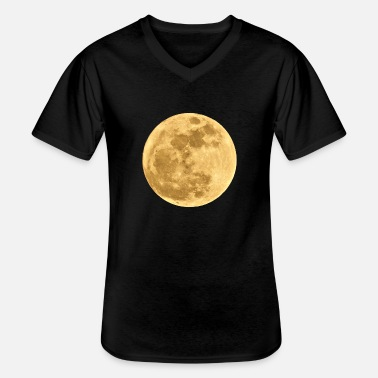 Full Moon Moon full moon - Men's V-Neck T-Shirt