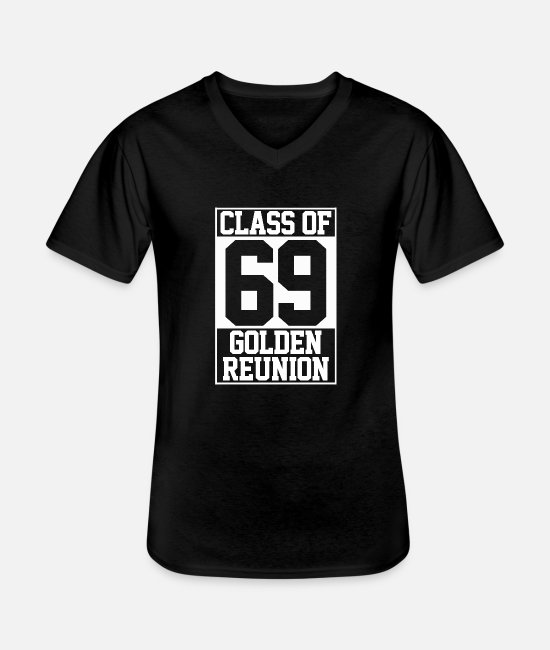 Charge T-Shirts - Class of 1969 - Men's V-Neck T-Shirt black