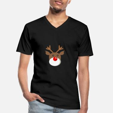 Rudolph Rudolph - Men's V-Neck T-Shirt