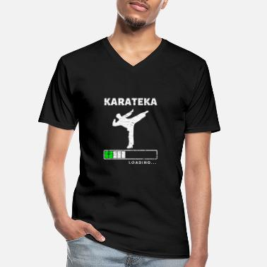 Karate Karate Training T-Shirt Gifts Karate Martial Arts - Men's V-Neck T-Shirt