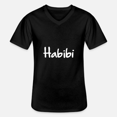 East Habibi - Men's V-Neck T-Shirt