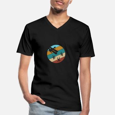Head Down Freefly Head Down Skydiver Gift - Men's V-Neck T-Shirt