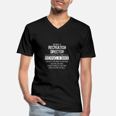 Recreational Recreation Director - Men's V-Neck T-Shirt
