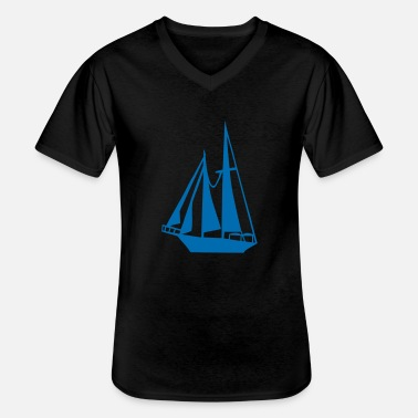 Sail Boat Sailing Boat - Men's V-Neck T-Shirt