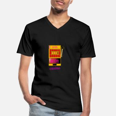 Casino casino win casinos - Men's V-Neck T-Shirt