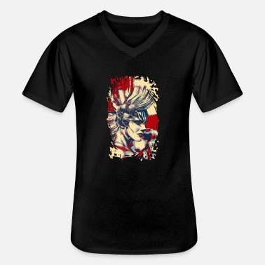 Iroquois IROQUOIS DeLuxe - T-shirt col V Homme