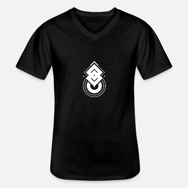 Abstract Abstract symbol - Men's V-Neck T-Shirt