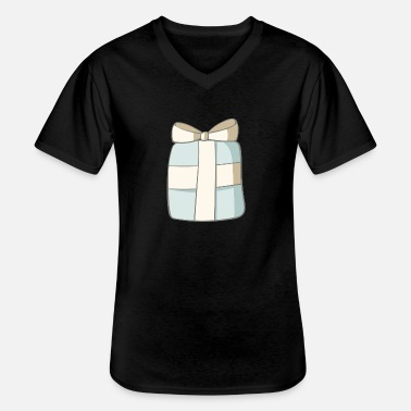 Present present - Men's V-Neck T-Shirt