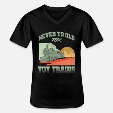 Transports En Commun Locomotive de transport en commun - T-shirt col V Homme