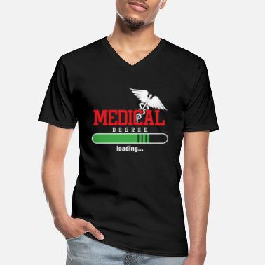 Medication Nurse Nursing Medical Aide Doctors Occupation - Men's V-Neck T-Shirt