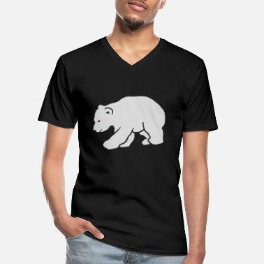 Knut L'ours polaire Knut Polar - T-shirt col V Homme