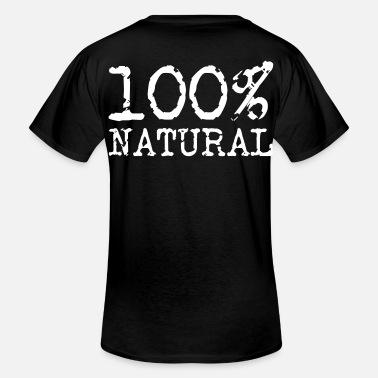 Naturellement 100% naturel - 100% naturel - T-shirt col V Homme