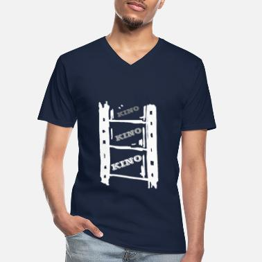 Cinema cinema cinema cinema white - Men's V-Neck T-Shirt