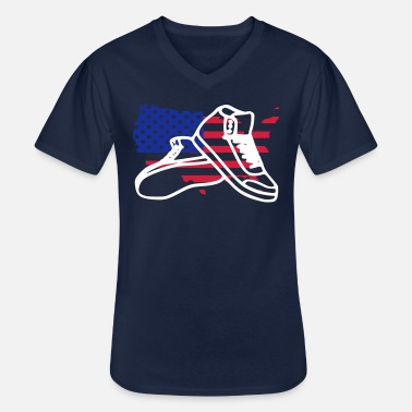 Usa usa - Men's V-Neck T-Shirt