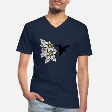 Nectar Collect hummingbird nectar - Men's V-Neck T-Shirt