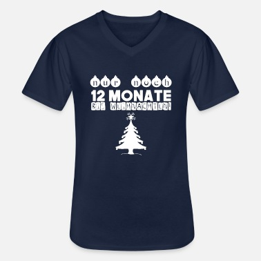Only 12 months left until Christmas! gift idea - Men's V-Neck T-Shirt