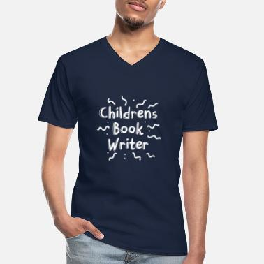 Book Children Childrens book writer - Men's V-Neck T-Shirt
