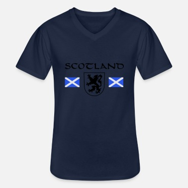 William Wallace Scotland's Rampant Lion - Men's V-Neck T-Shirt
