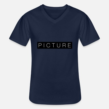 Picture picture - Men's V-Neck T-Shirt