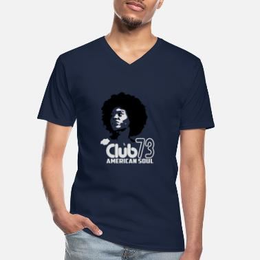Soul Soul Club - Men's V-Neck T-Shirt