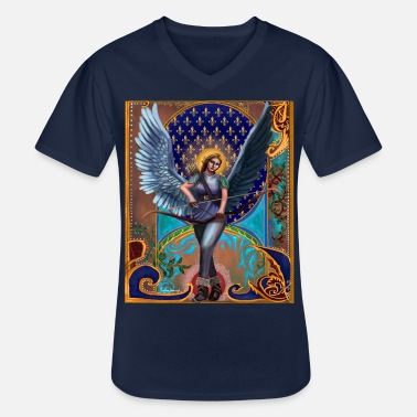 Ange / Valkyrie néo gothique - T-shirt col V Homme