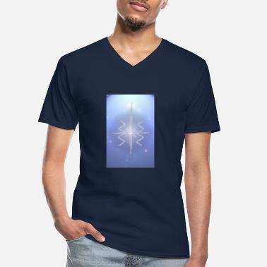 Spiritual The Veritastra 2 - Men's V-Neck T-Shirt
