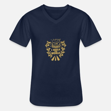 Elisabeth Ii Elisabeth - Men's V-Neck T-Shirt