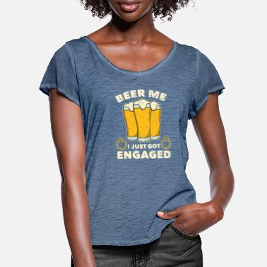 Engagement Party Engagement party - Women's Ruffle T-Shirt