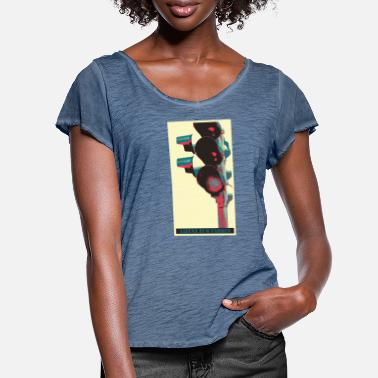 License License to drive - Women's Ruffle T-Shirt