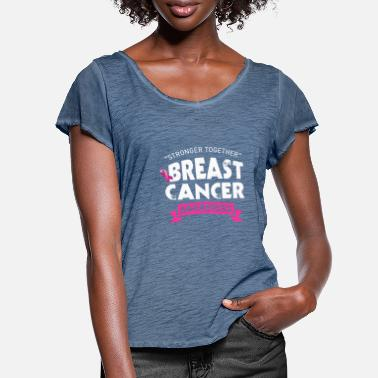 Breast Cancer Awareness Breast cancer - Women's Ruffle T-Shirt