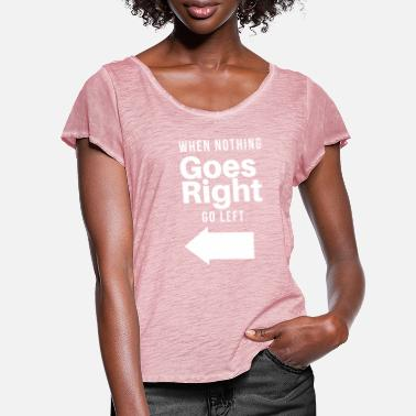 Direct direction - Women's Ruffle T-Shirt