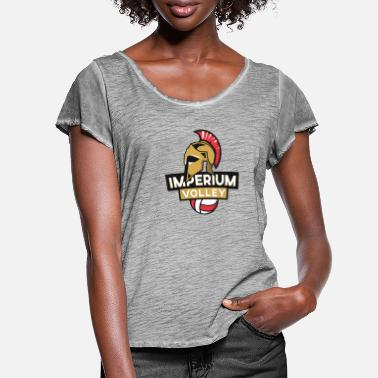 Imperium Imperium Volleyball - Women's Ruffle T-Shirt