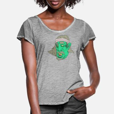 Druid Druid - Women's Ruffle T-Shirt